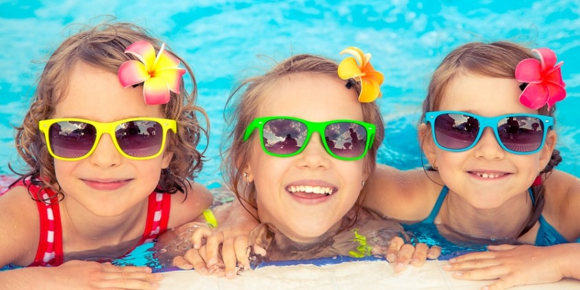Sun protection throughout the summer holiday